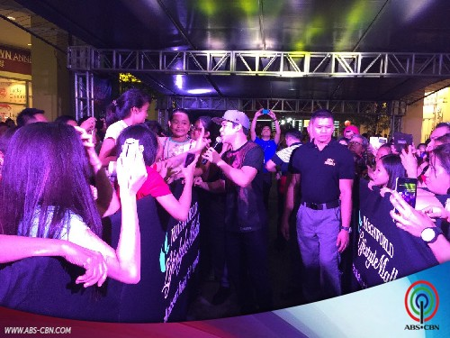 Khalil, Melai and Jason at the Shake, Rattle & Roll XV mall show