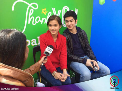 LOOK: Kapamilya Thank You in Baguio with Maris and Joshua